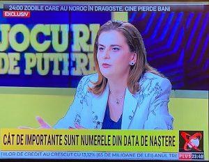 Realitatea Plus Cristina Udrescu